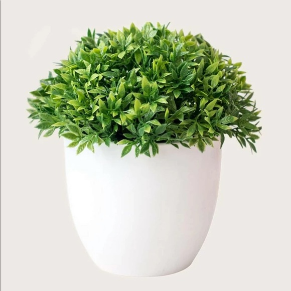 Artificial Potted Plant Topiary Faux Greenery 🌿